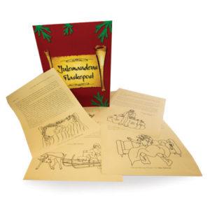 Julemandens Flaskepost - 24 personlige kalenderbreve
